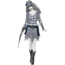 Ghost Town Cowgirl Costume