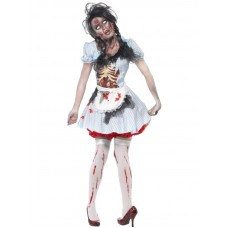 Horror Zombie Countrygirl Costume