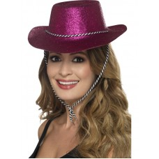 Cowboy Glitter Hat