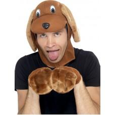 Dog Hood & Gloves