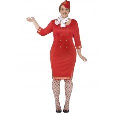 Curves Air Hostess Costume