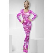 Tie Dye Pink Bodysuit