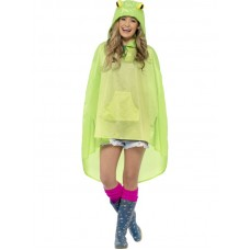 Frog Party Poncho