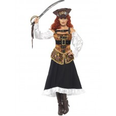 Steam Punk Pirate Wench Costume