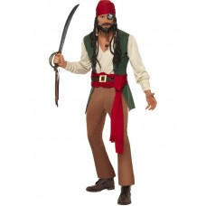 Caribbean Drunken Pirate Costume