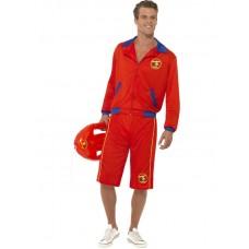 Baywatch Beach Men's Lifeguard Costume