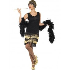 1920's Fringed Flapper Costume