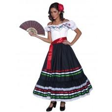 Authentic Western Sexy Senorita Costume