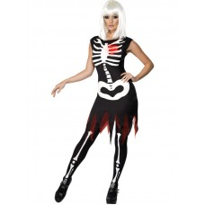 Bright Bones Glow in the Dark Costum