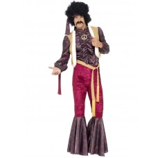 70's Psychedelic Rocker Costume with Flares