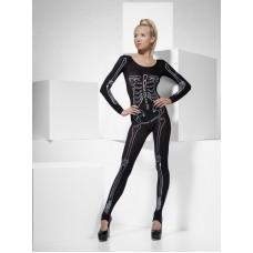 Skeleton Print Bodysuit