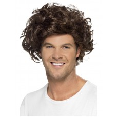 Boyband Heartthrob Wig, Curly