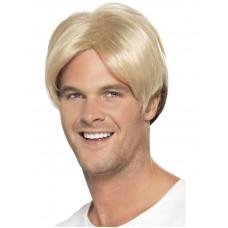 90's Boyband/Footballer Curtain Wig